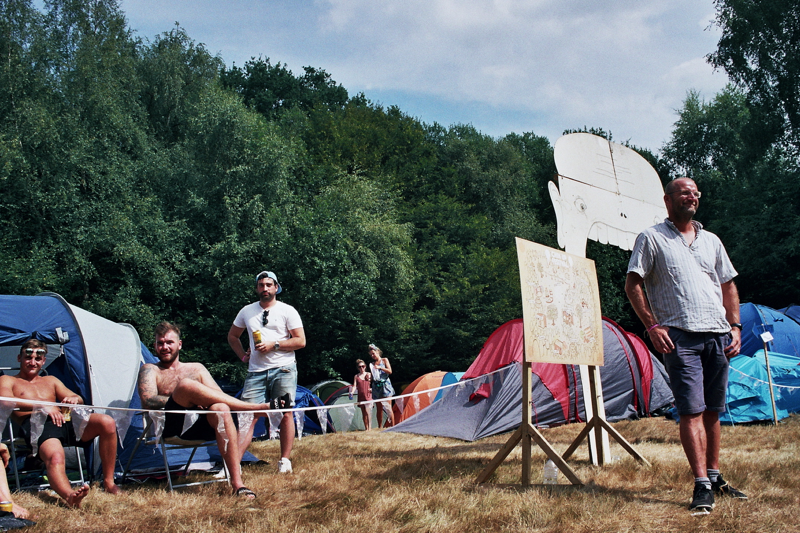 The camping area at Chin Up 2018. Photo by Joshua Jolly