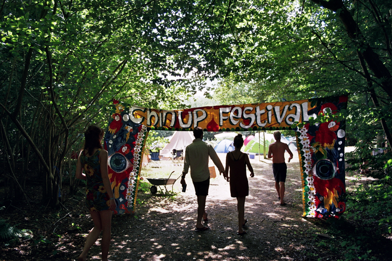 Entering Chin Up Festival. Photo by Joshua Jolly